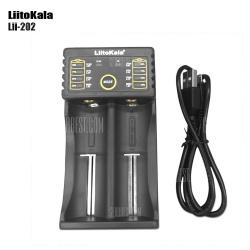 Универсальное зарядное устройство LiitoKala Lii-202  (Открывается в новом окне)