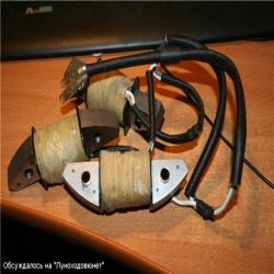 Катушка освещения на двигатель лифан своими руками