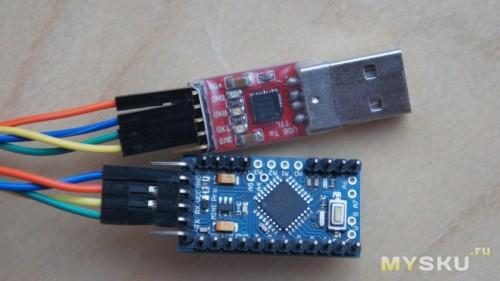 Погода в доме беспроводной метеодатчик из arduino pro mini