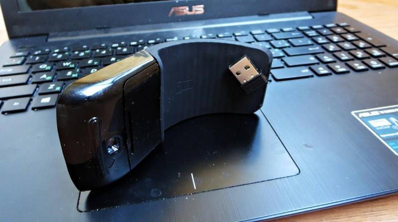 TVC-Mall: Гибкая беспроводная мышь FAKE Arc Touch Mouse