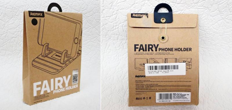 Banggood: Силиконовая подставка для телефона REMAX Fairy