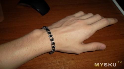 Как сделать цепочку на руку