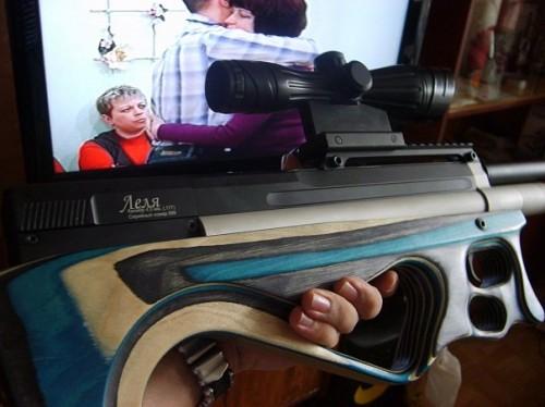 Минифотосессии винтовки леля от OOO Эдган на Airgunstyle.ru