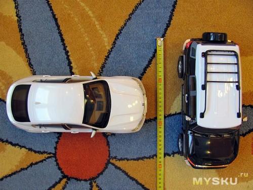 BMW X6 и Toyota FJ Cruiser