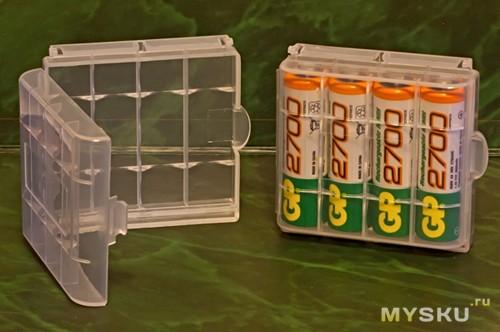 Коробка для хранения батареек своими руками 10