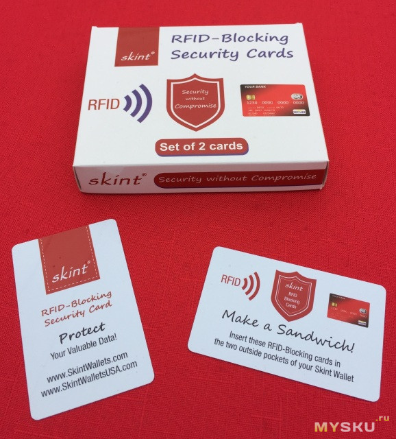 securing cards