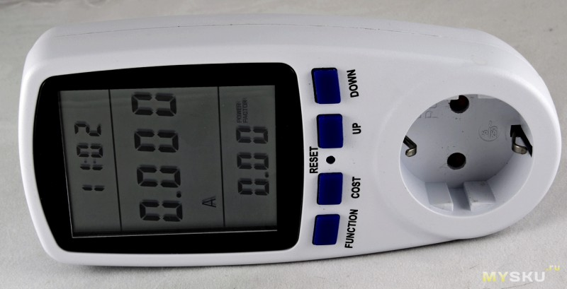Electric Power Meter Energy Saving Monitor Watt Smart Socket Analyzer Household Ваттметр