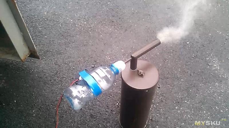 Генератор дыма для автомобиля своими руками 78