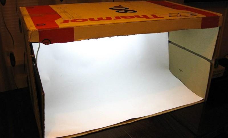 TVC-Mall: Лайтбокс для предметной съемки в домашних условиях.