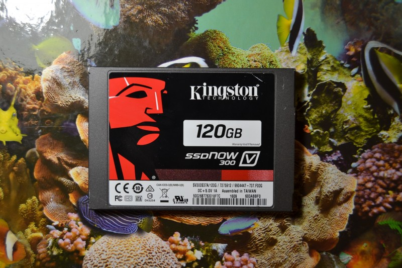 Aliexpress: SSD диск Kingston V300 - 120 Gb