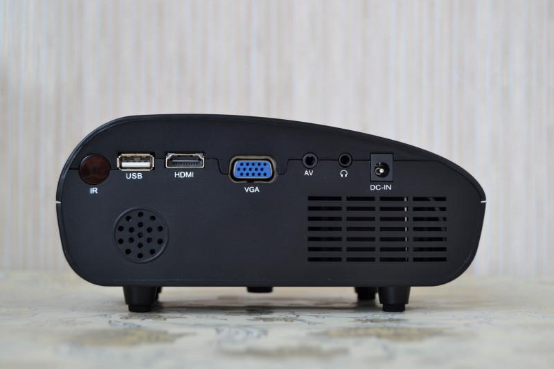 Другие - Китай: Обзор Mini Led Projector RD-802 - очень дешевый китайский проектор