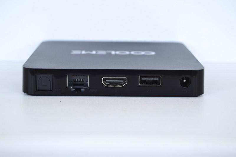 Banggood: Tv Box на Amlogic S905X -  COOLEME MB1: шустрая приставка для воспроизведения видео контента