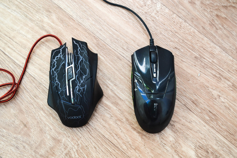 Newfrog: Vodool K1022 - проводная 'игровая' компьютерная мышка с декоративной иллюминацией