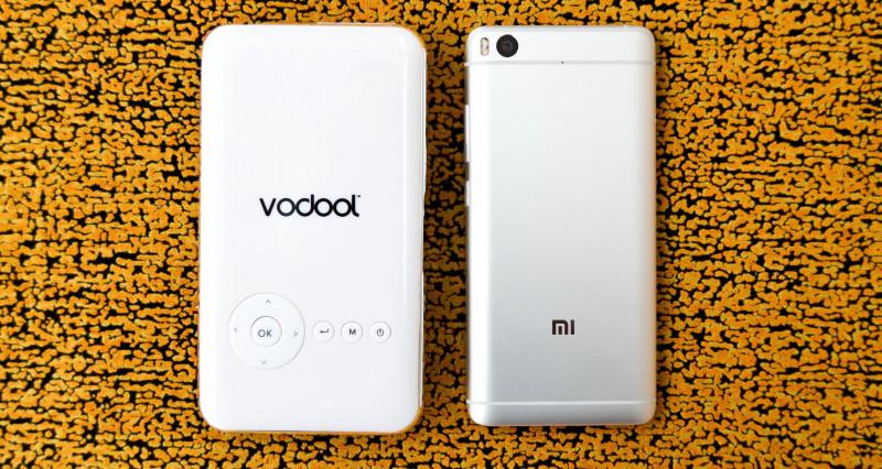 Newfrog: Портативный DLP проектор Vodool на Android с разрешением WVGA - 854*480