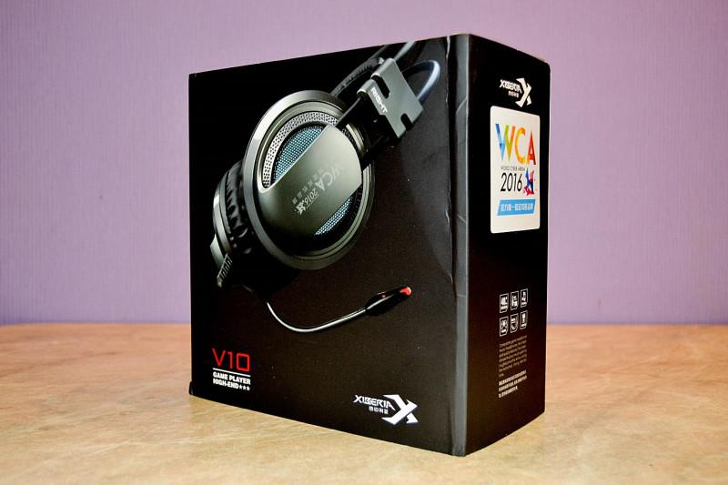 Другие - Китай: Бюджетные компьютерные наушники для геймеров - Xiberia V10