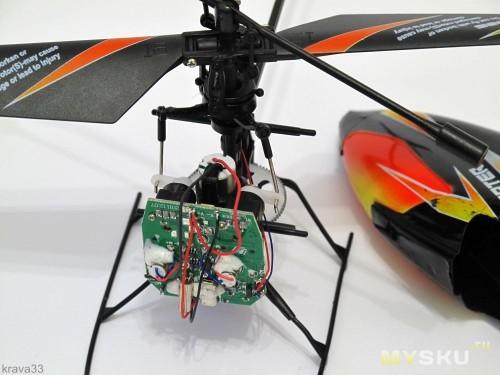 Как сделать вертолет из моторчика своими руками 59