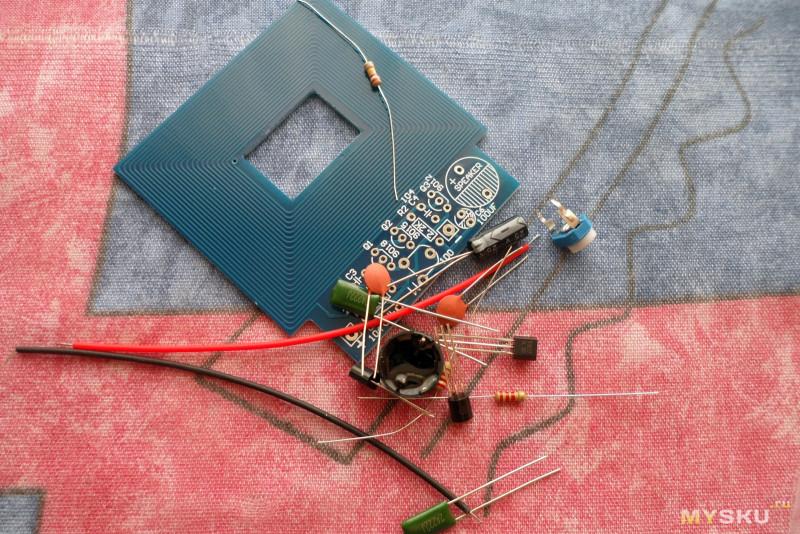Как сделать свой металлоискатель из дисков 522