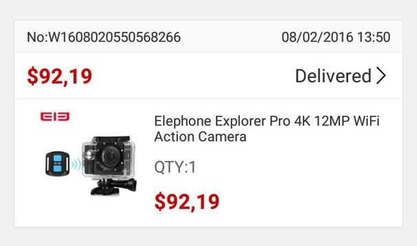 GearBest: Elephone Explorer Pro – Говорящая экшн камера