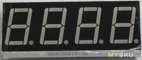 7Seg-4Digit LED Display