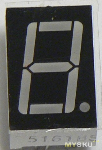 1Digit led display