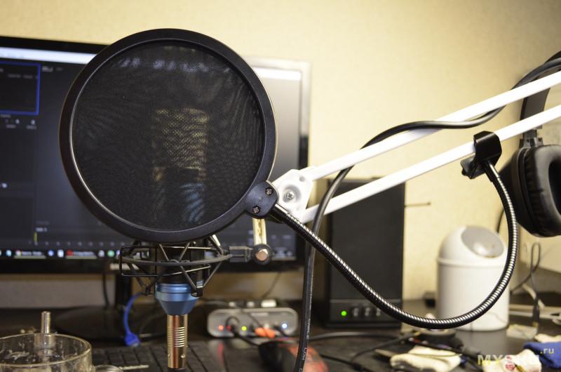 Как сделать поп-фильтр своими руками для микрофона