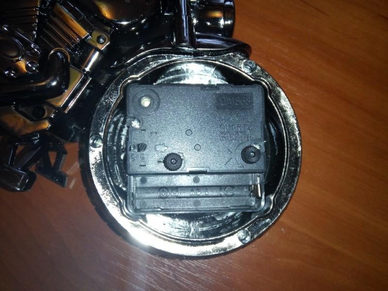 ChinaBuye: Настольные часы-будильник в форме мотоцикла, тематический подарок :)