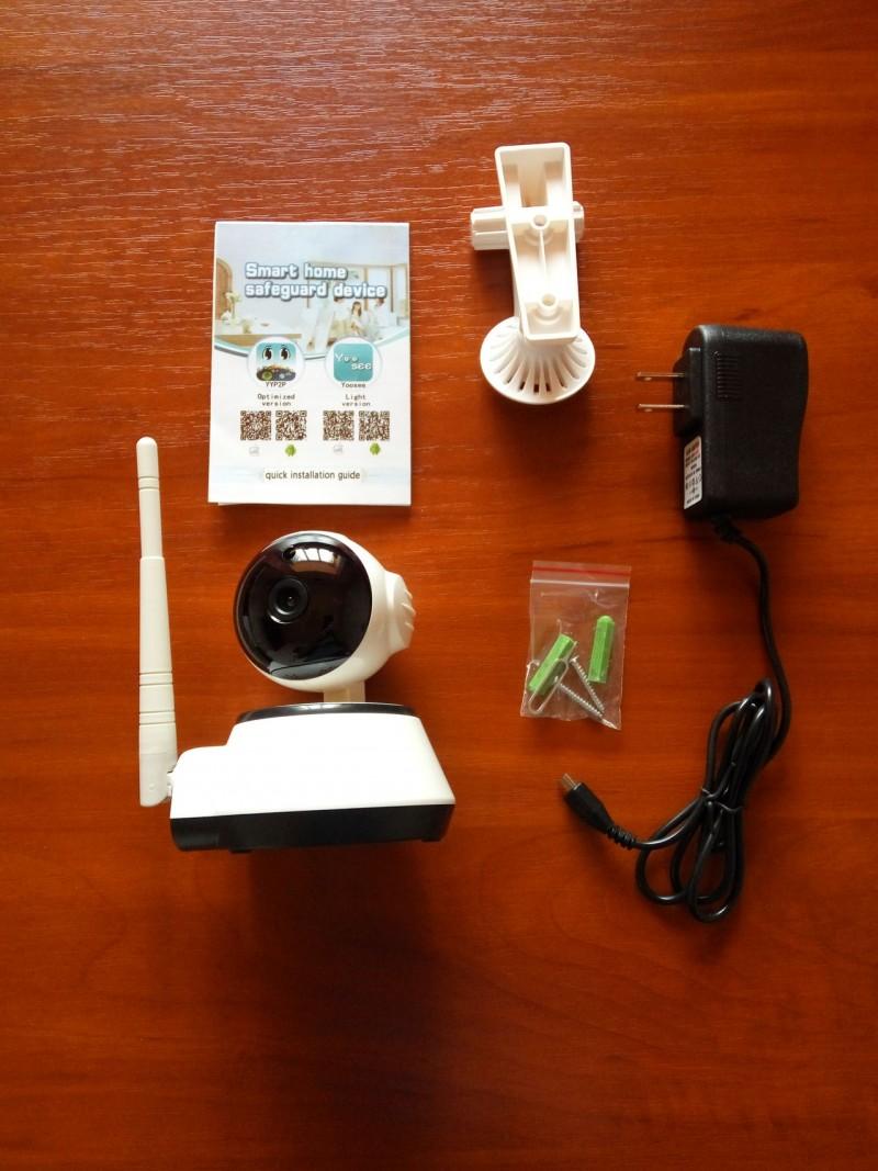 GearBest: H7 - маленькая шустренькая поворотная IP камера