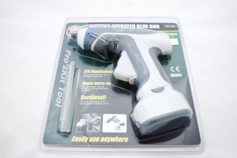 TomTop: Pro'sKit GK-368 – беспроводной клеевой пистолет