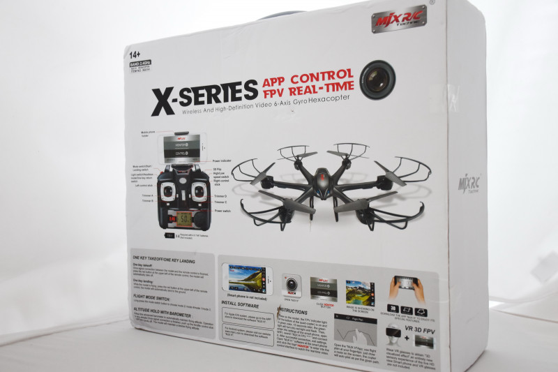 GearBest: MJX X601H - I believe, i can fly