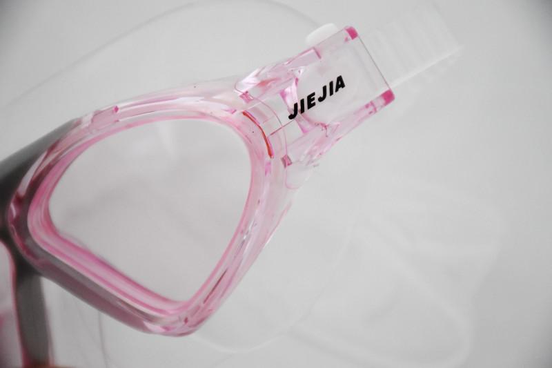 Banggood: Очки-полумаска для плавания розового цвета, для любимой дочи