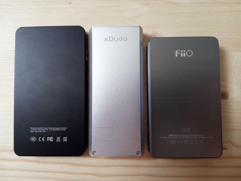 TomTop: Xuelin iHiFi 770C - обзор Hi-Fi плеера и сравнение с xDuoo X3 и FiiO X3 II