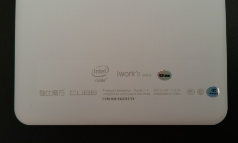 GearBest: Cube iWork8 Ultimate - Android 5.1 + Windows 10 планшет на мощном Intel Atom X5