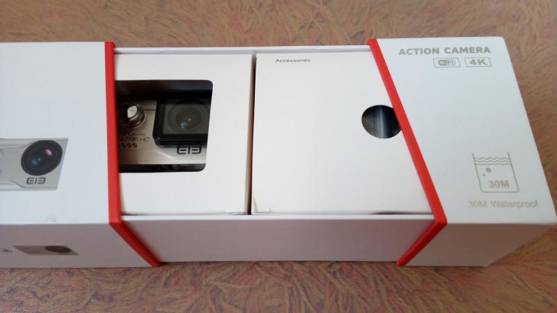 GearBest: Обзор EleCam Explorer Elite 4K - качественная экшн камера