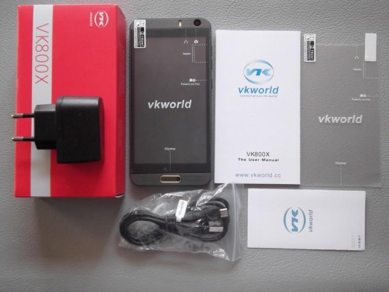 Banggood: Смартфон VK800X - новый щелкунчик и гроза орехов от компании VKWORLD.