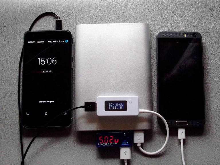 Aliexpress: Тонкое портативное зарядное устройство/Power bank/USB батарея Vinsic Alien /20000mAh
