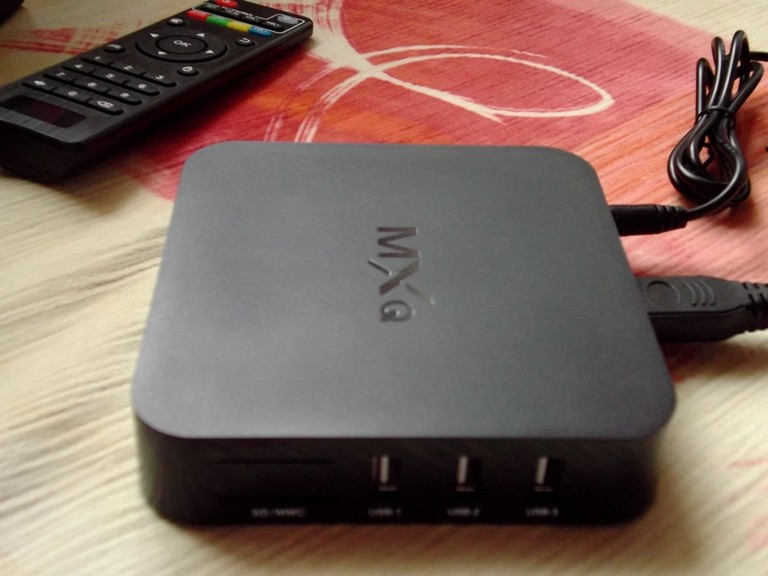 DD4: Бюджетный TV-box MXQ за недорого.