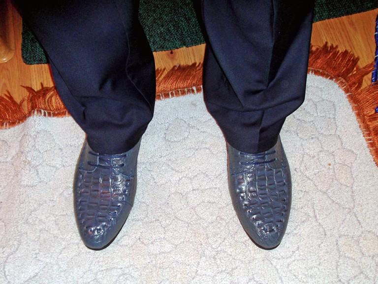 Banggood: Мужские туфли-оксфорды из натуральной кожи под костюм для официальных случаев.