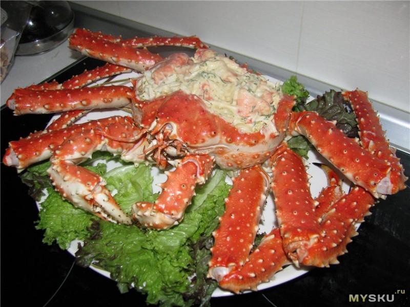 Камчатский крабы рецепты приготовления