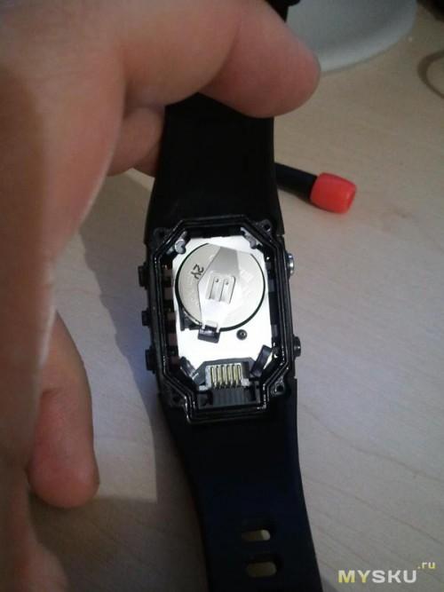 часы без задней крышки