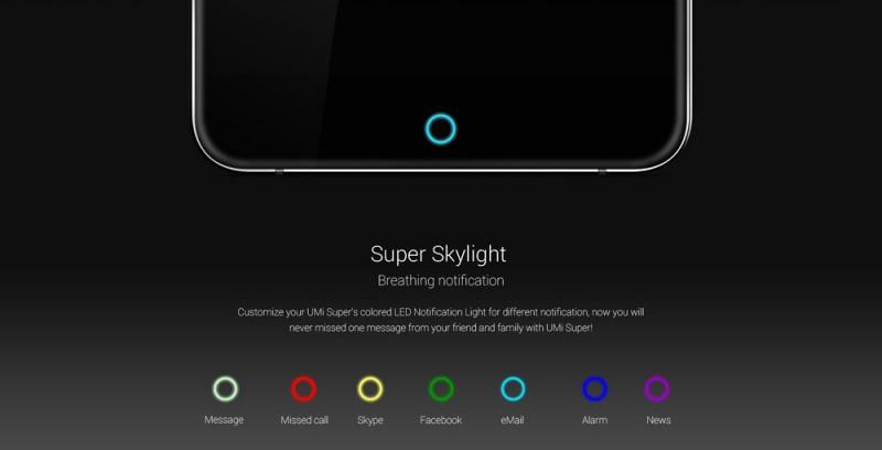 TomTop: 'Супер' смартфон Umi super (5.5', 4GB RAM, 32GB ROM, Helio P10 2.0 GHz)