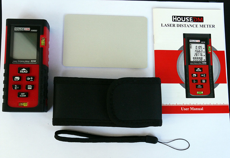 Aliexpress: Лазерный дальномер HOUSEDM HM80 vs Leica Disto A5