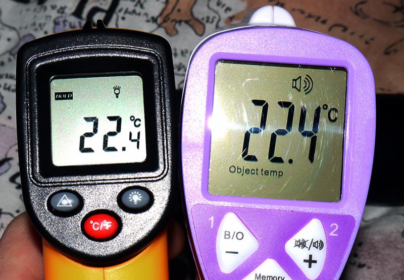Banggood: Инфракрасный термометр (пирометр) FI01