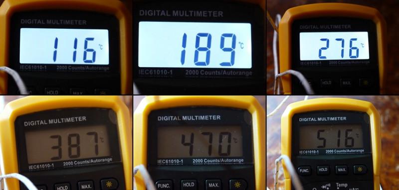 Измерение температуры талой воды при 0 c