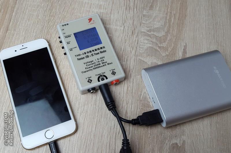 Banggood: BlitzWolf® BW-P1 10400mAh - обзор и тестирование QC 2.0