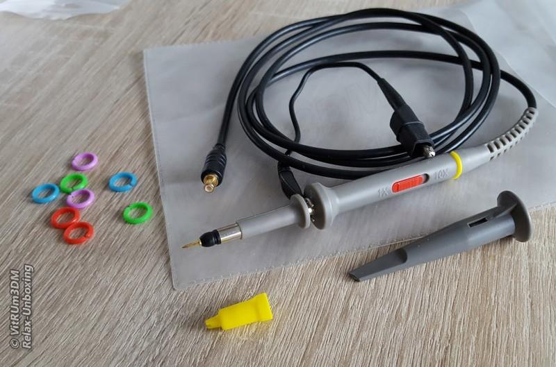 Banggood: Обзор карманного осциллографа DSO Nano DSO201