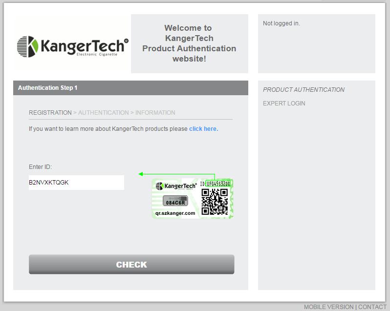 Banggood: Электронная сигарета Kanger EMOW VV 1300 mAh Kit