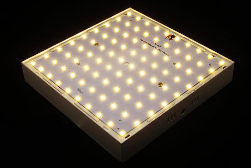 TVC-Mall: Накладной светодиодный светильник 180х180 мм