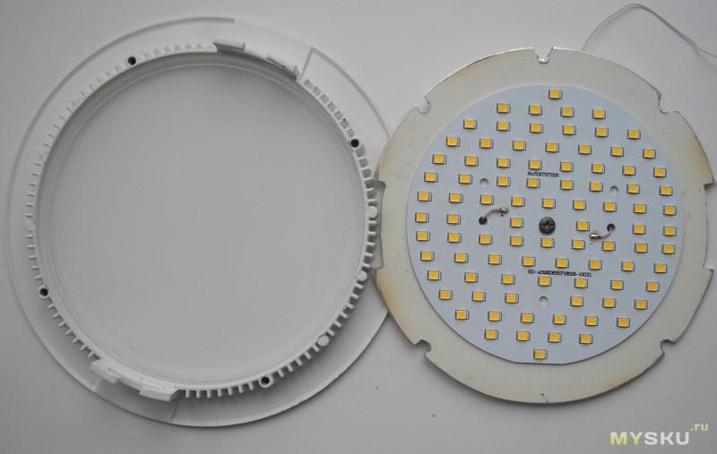 Светодиодный светильник для своими руками