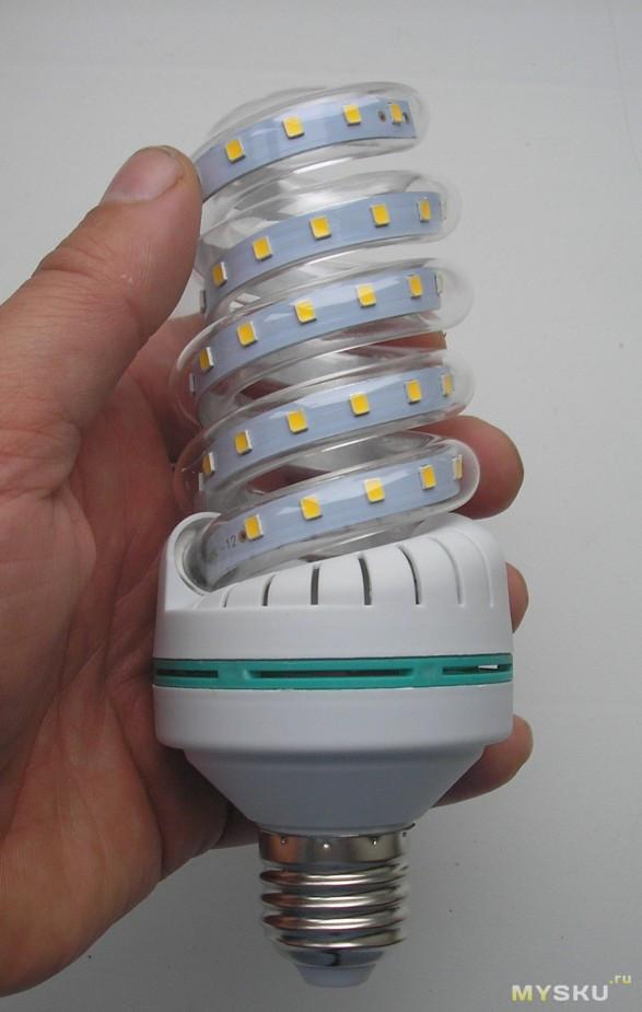 Светодиодная лампа своими руками на 12 вольт