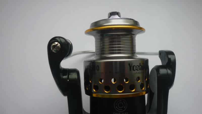 GearBest: Спиннинговая рыболовная безынерционная катушка YF500